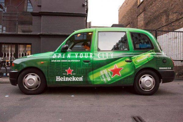 đơn vị thi công quảng cáo trên ô tô